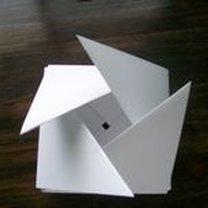 pudełko origami - krok 46