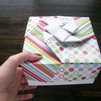 pudełko origami - krok 48