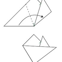 śnieżynka z papieru - krok 7