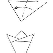 śnieżynka z papieru - krok 8