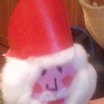 Mikołaj z żarówki