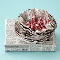 Pakowanie prezentów w gazetę