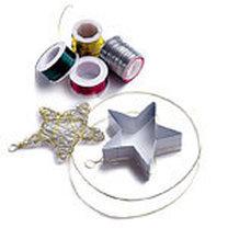 gwiazda na choinkę - materiały