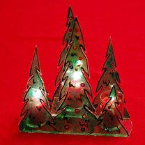 świąteczny lampion z plexi