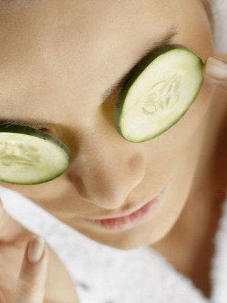 ogórek na oczy