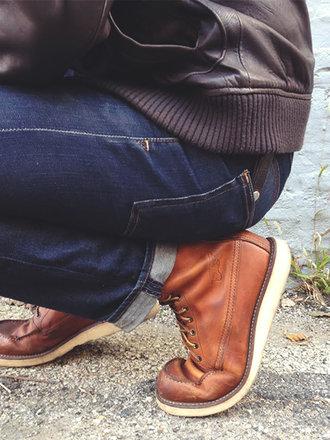 rozciąganie jeansów