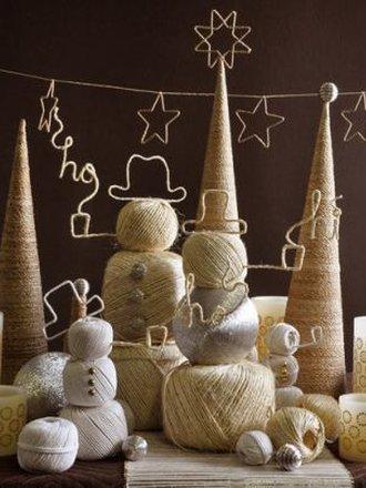Jak Zrobić Dekoracje Bożonarodzeniowe Ze Sznurka Porada