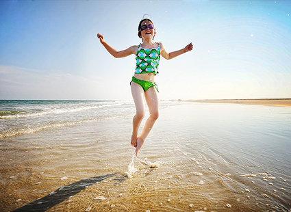 zdjęcie na plaży