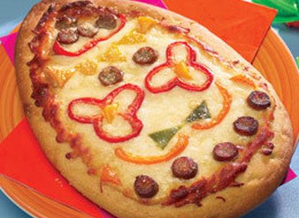 pizza w kształcie pisanki