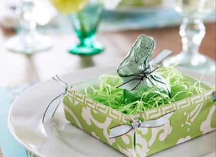 przybranie talerza na Wielkanoc
