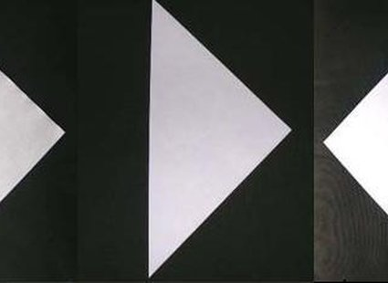 łabędź origami - krok 1.