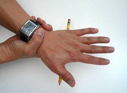 sztuczka z ołówkiem - etap 2.