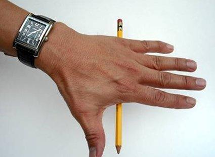sztuczka z ołówkiem - etap 3.
