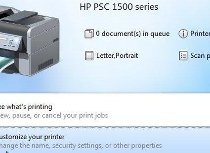 udostępnianie drukarki w Windows 7