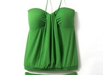 strój dla kobiety z wystającym brzuszkiem