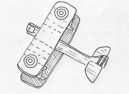 samolot z balsy