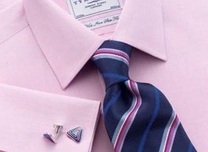 proponowany krawat do kolorowej koszuli