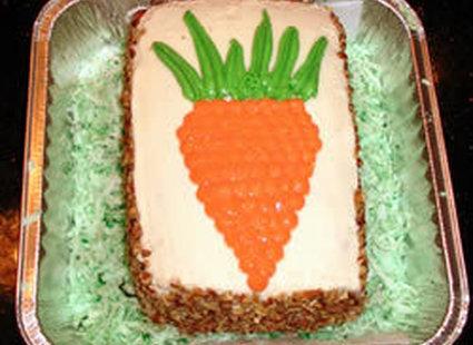 Ciasto marchewkowe na Wielkanoc