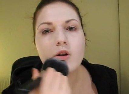 Makijaż mima - 1