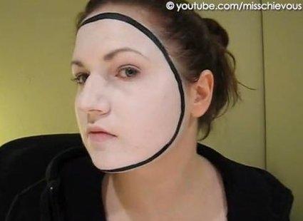 Makijaż mima - 2