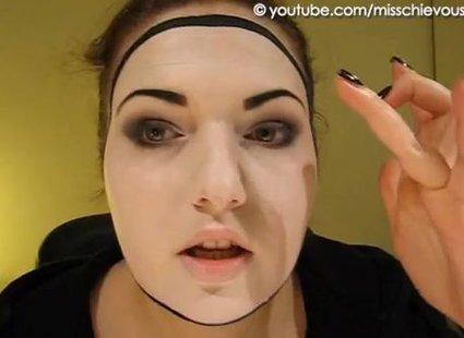 Makijaż mima - 8