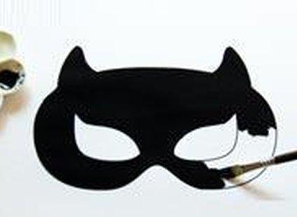 Wydrukowany szablon maski