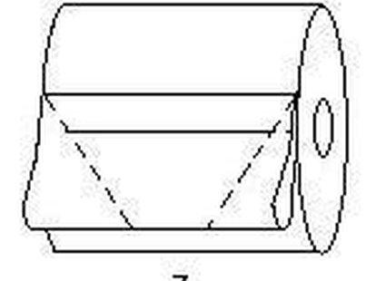 origami z papieru - krok 7.
