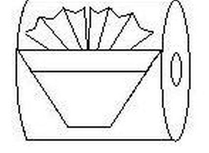 origami z papieru - krok 9.