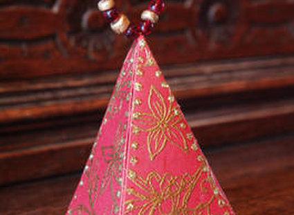 Piramida z papieru