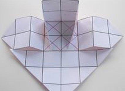 Pudełko origami 11