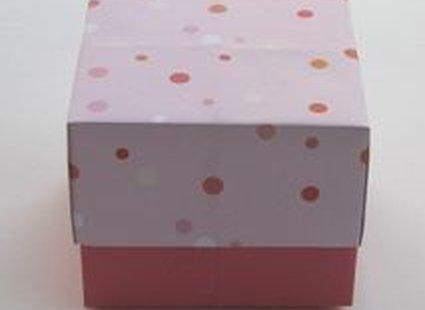 Pudełko origami - zrób to sam