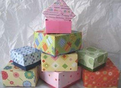 Pudełka origami