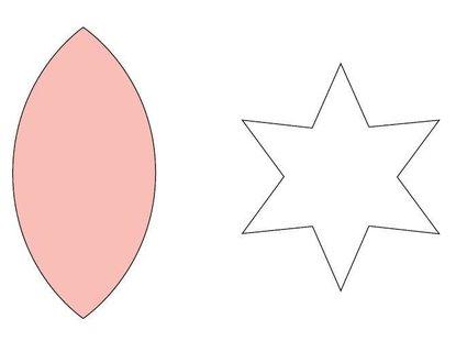 Szablon gwiazdy