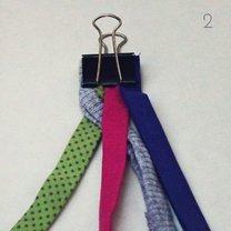 bransoletka z materiału - krok 7