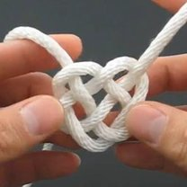 serduszko ze sznurka 13