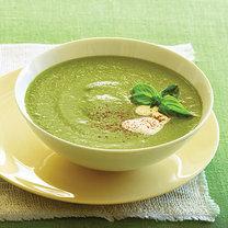 zupa krem z cukinii i bazylii
