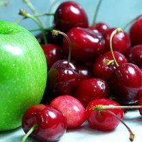 półkwaśne owoce