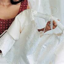 Przechowywanie sukni ślubnej