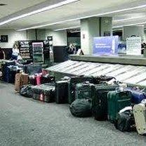 Bagaże na lotnisku.