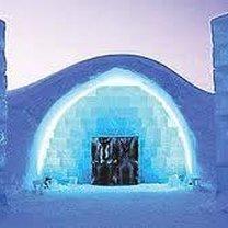 lodowy hotel