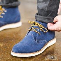 Buty zamszowe