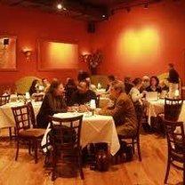 Ludzie w restauracji.