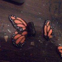 malowanie skrzydeł motyla