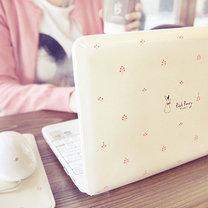Słodka obudowa laptopa
