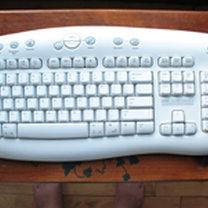 Czysta klawiatura