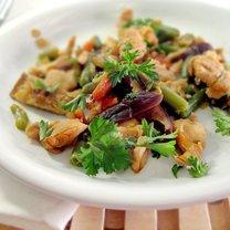 Kurczak z grzybami shitake