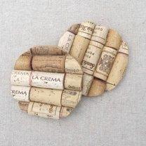 podkładka pod kubek z korków po winie