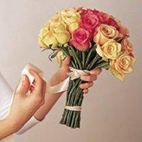 Robienie bukietu z róż 3