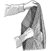 Składanie garnituru do walizki