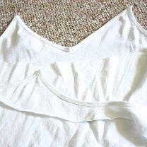 odcinanie tyłu bluzki
